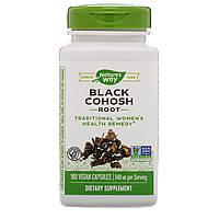 Клопогон, Black Cohosh (Цимицифуга), Nature's Way, 540 мг, 180 капсул