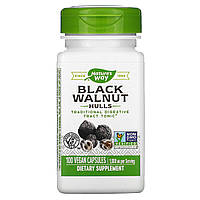 Черный орех (Black Walnut, Hulls), Nature's Way, 500мг, 100 капсул