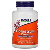 Лактоферрин, Colostrum, Now Foods, порошок, 85 грамм