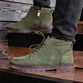 Мужские Зимние зеленые ботинки South Flip