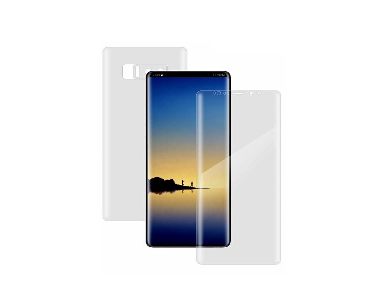 Защитная пленка 2 стороны - лицевая и обратная SO EASY ITOP 360 для Samsung Galaxy Note 8 Full Cover