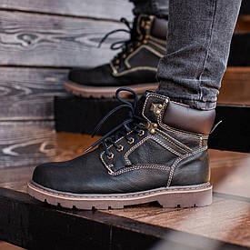 Мужские Зимние черные ботинки SouthCraft