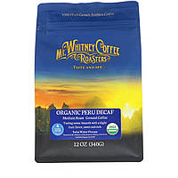 Mt. Whitney Coffee Roasters, Органический перуанский напиток без кофеина, молотый кофе, 12 унций (340 г)