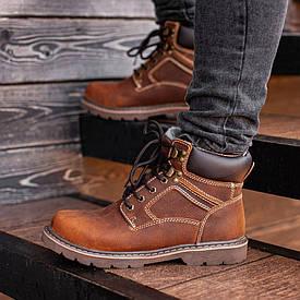 Мужские Зимние коричневые ботинки South Craft