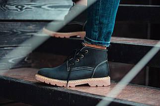 Мужские Зимние черные ботинки Southjaston