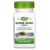 Дягиль лекарственный (Dong Quai), Nature's Way, 565 мг, 100 капсул