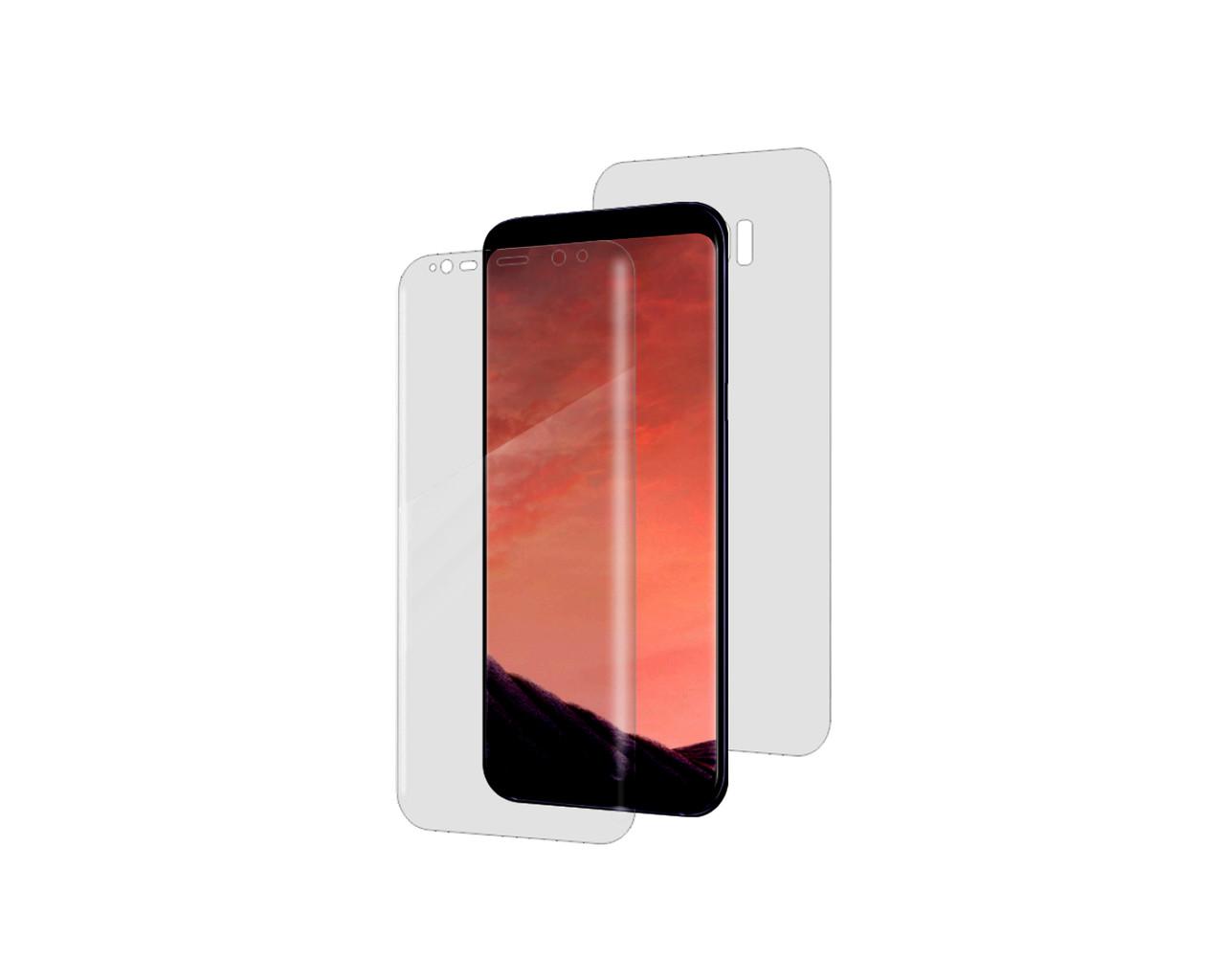 Защитная пленка Nano 2 стороны - лицевая и обратная ITOP 360 для Samsung Galaxy S8 Full Cover