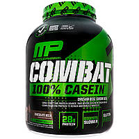 Мицеллярный казеин, (Combat, 100% Micellar Casein Protein), шоколад, Muscle Pharm, 1814 кг, фото 1