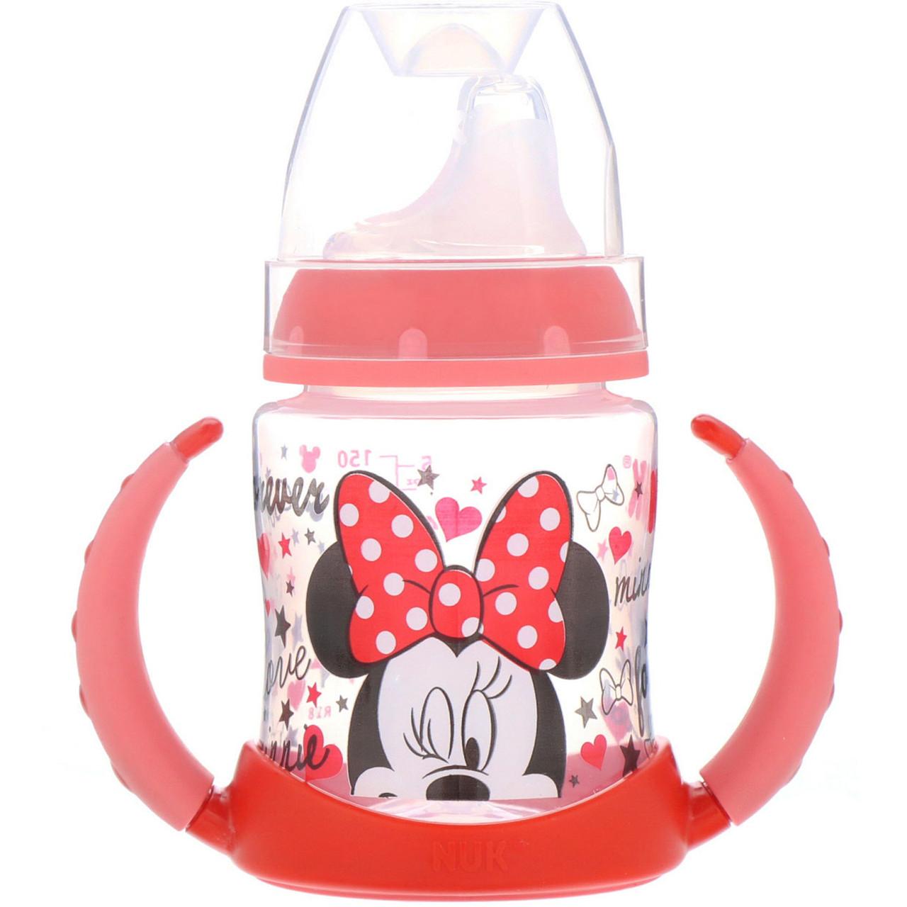 Чашка-поильник Микки Маус, (Disney   Learner Cup), Голубая, NUK