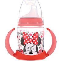 Чашка-поильник Микки Маус, (Disney   Learner Cup), Голубая, NUK, фото 1