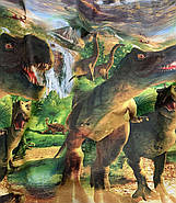 """Двоспальний комплект (Ранфорс)   Постільна білизна від виробника """"Королева Ночі""""   Динозаври, Юрський період, фото 2"""