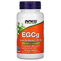 Зелений чай, EGCg (Green Tea), екстракт, Now Foods, 90 капсул