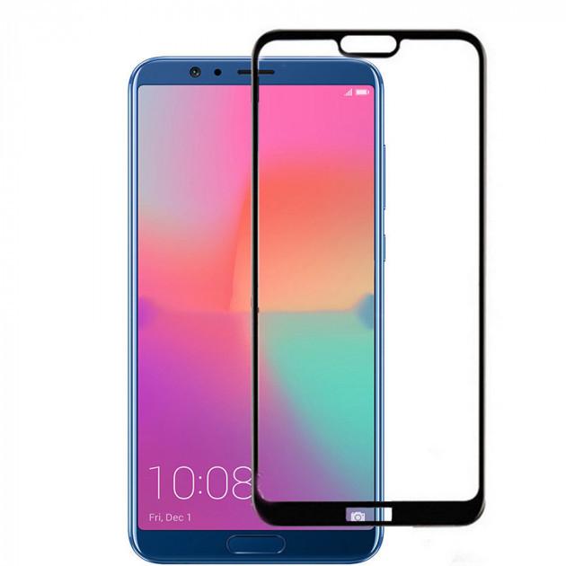 Захисне скло Glass 2.5 D Full Glue для Huawei Honor 10 Black (AF-000130)