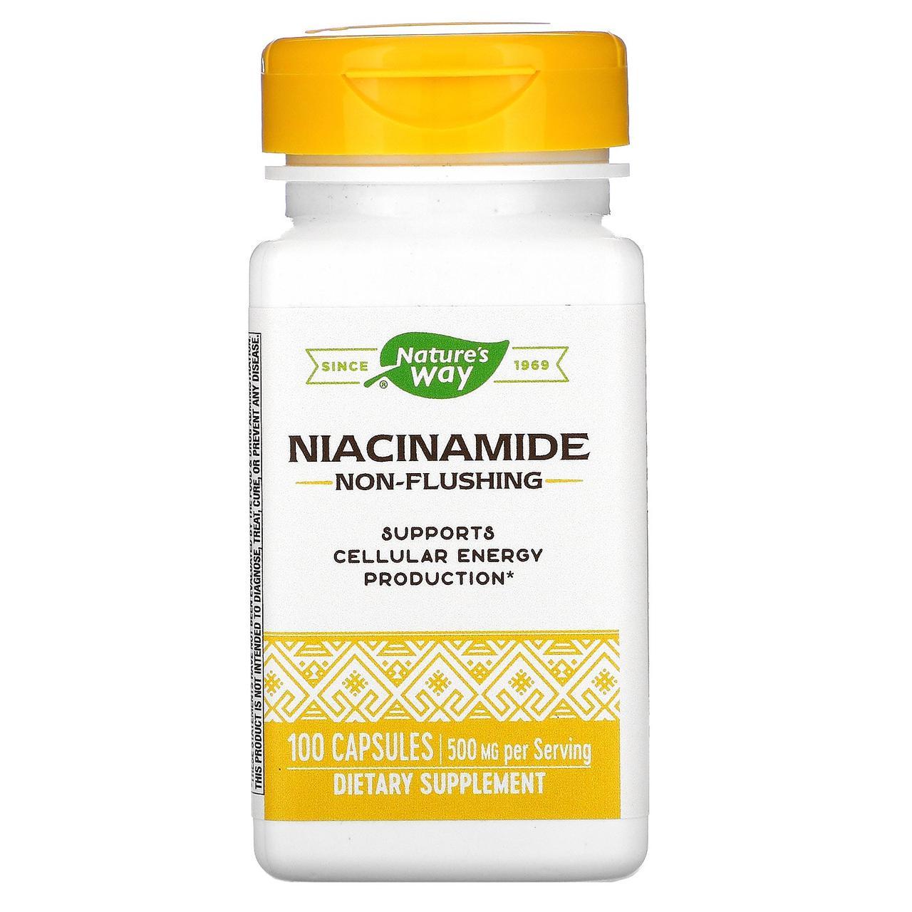 Вітамін В3, nature's Way, 500 мг, 100 капсул
