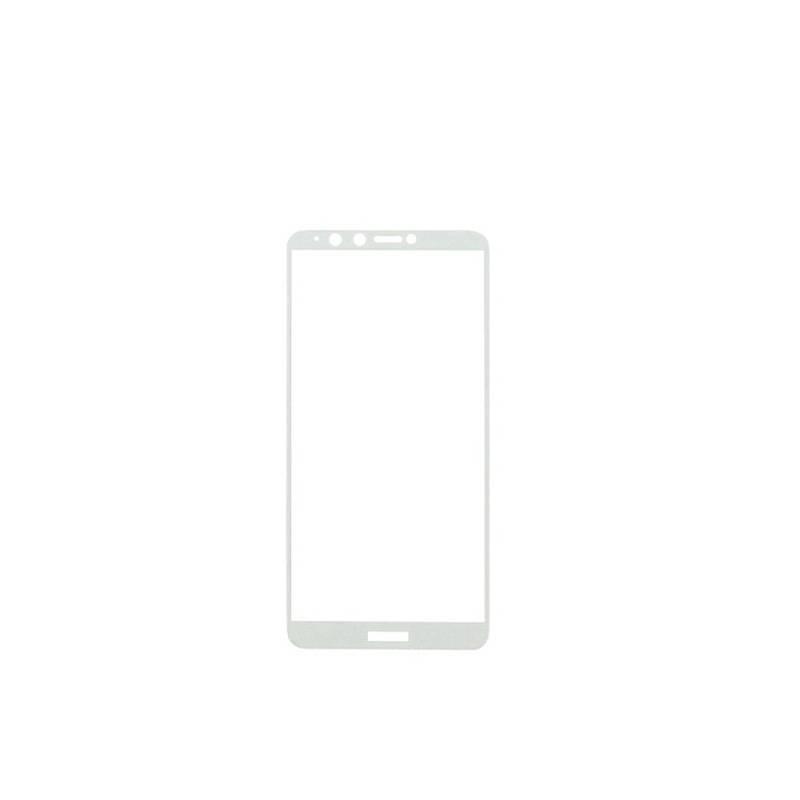 Защитное стекло Glass 2.5D Full Glue для Huawei Y9 2018 White (AF-000166)