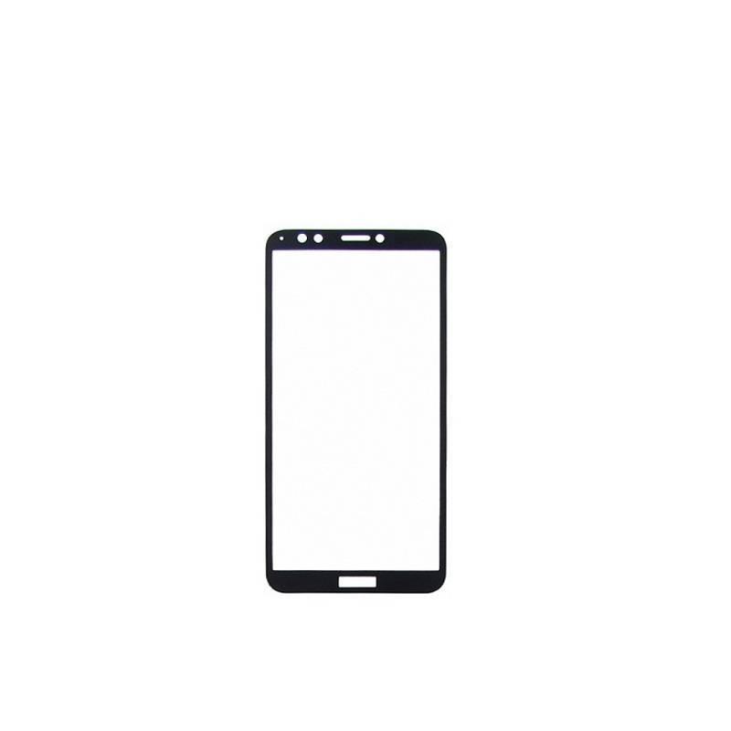Защитное стекло Glass 2.5D Full Glue для Huawei Y9 2018 Black (AF-000167)