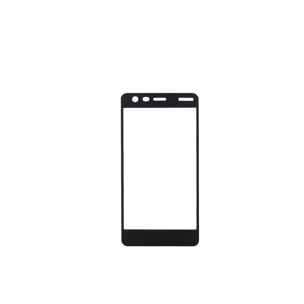 Захисне скло Glass 2.5 D Full Glue для Nokia 2 Black (AF-000195)
