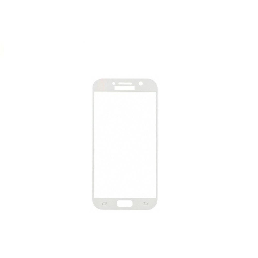 Защитное стекло Glass 2.5D Full Glue для Samsung A320 Galaxy A3 2017 White (AF-000203)