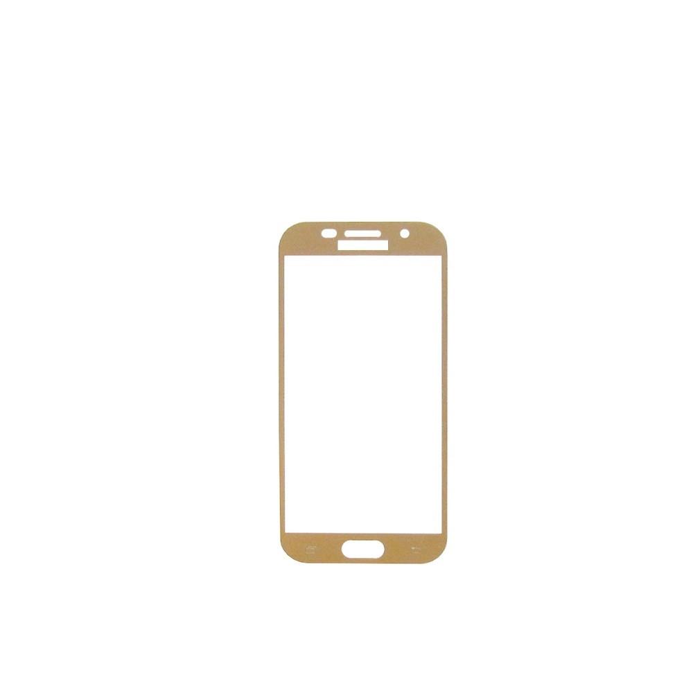 Захисне скло Glass 2.5 D Full Glue для Samsung A320 Galaxy A3 2017 Gold (AF-000204)