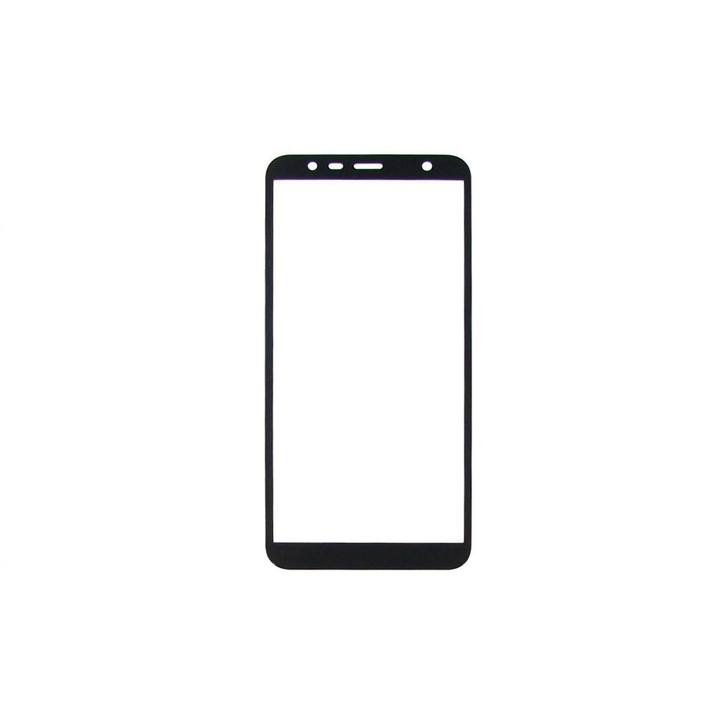 Захисне скло Glass 2.5 D Full Glue для Samsung J415 Galaxy J4 Plus Black (AF-000253)