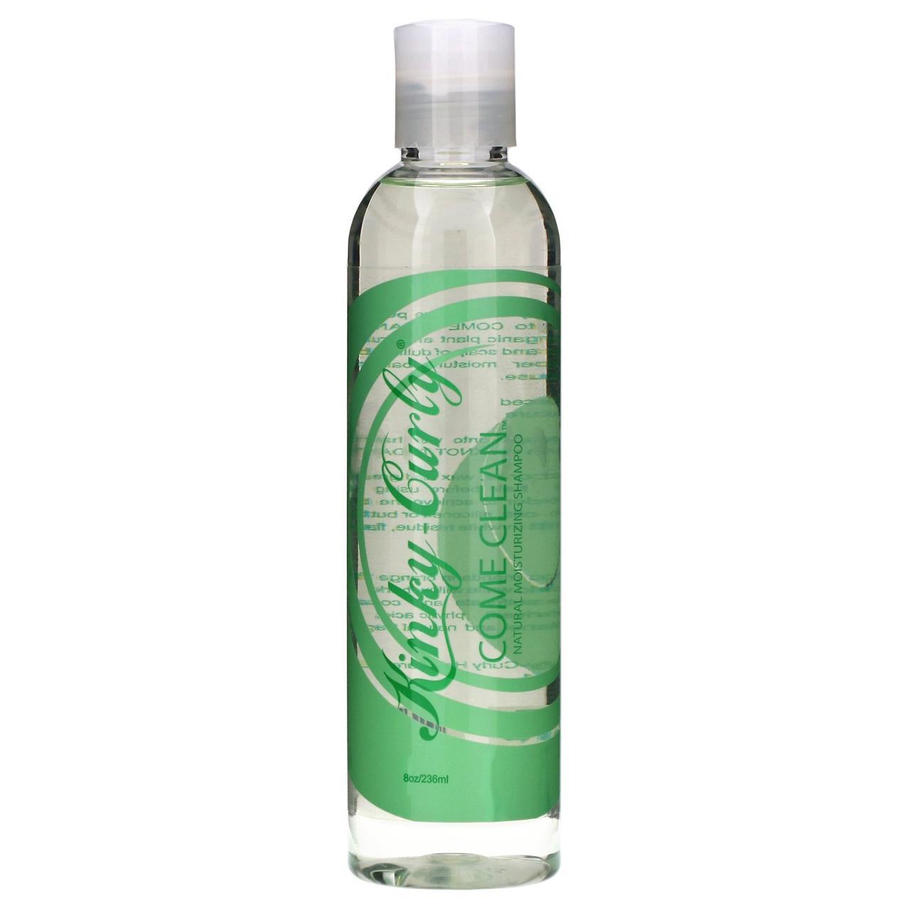 Натуральний зволожуючий шампунь, Moisturizing Shampoo, Kinky-Curly, 236 мл