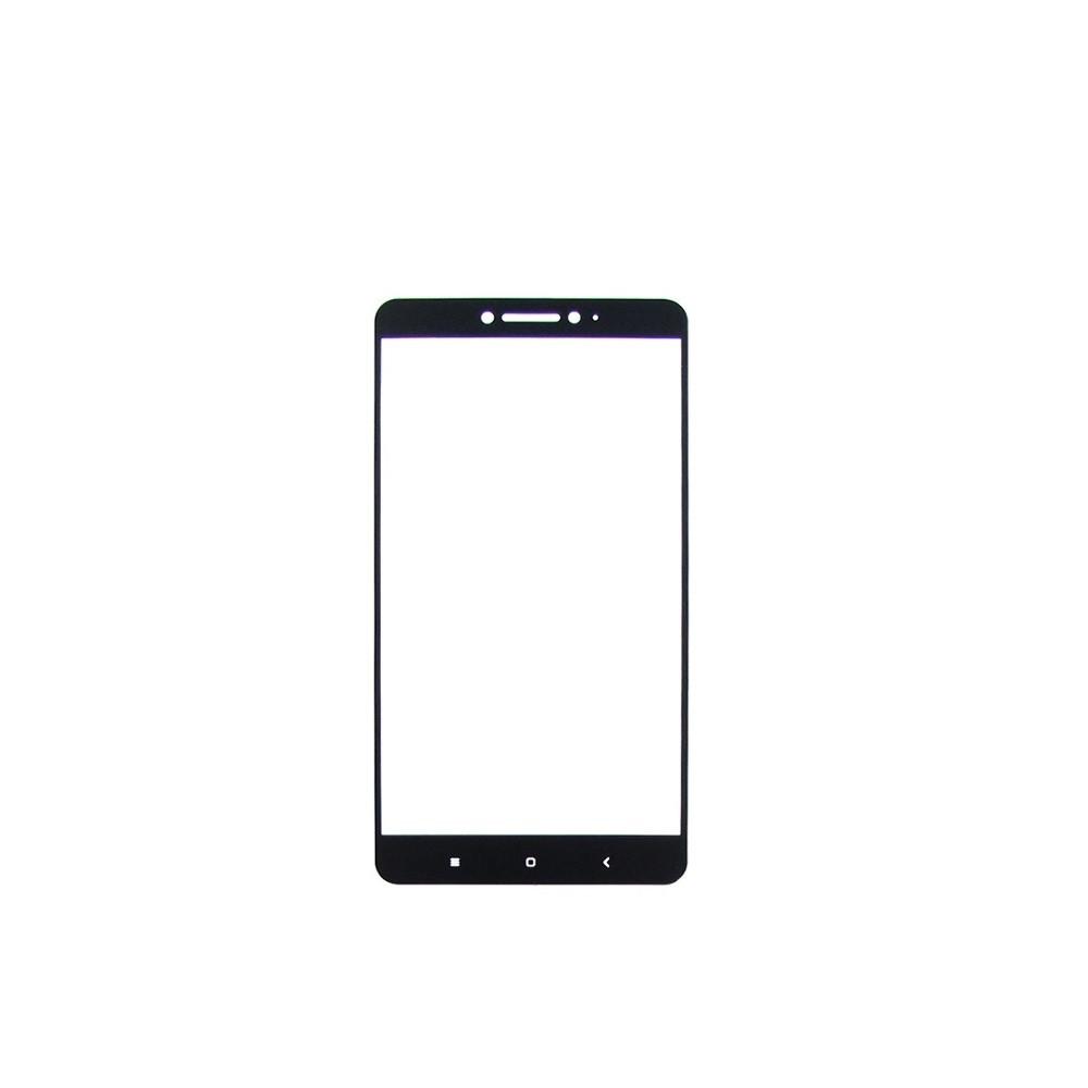 Захисне скло Glass 2.5 D Full Glue для Xiaomi Mi Max/Mi Max 2 Black (AF-000283)