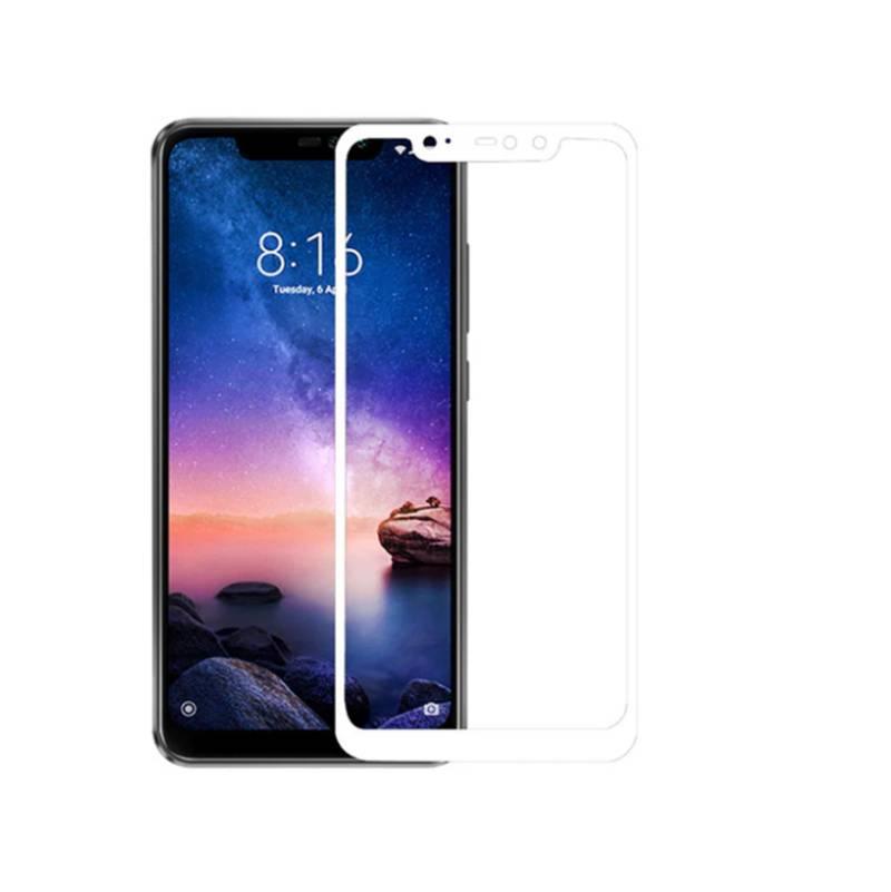 Захисне скло Glass 2.5 D Full Glue для Xiaomi Redmi Note 6 Pro White (AF-000313)