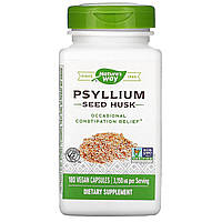 Подорожник (Psyllium Husks), Nature's Way, 525 мг, 180 кап.