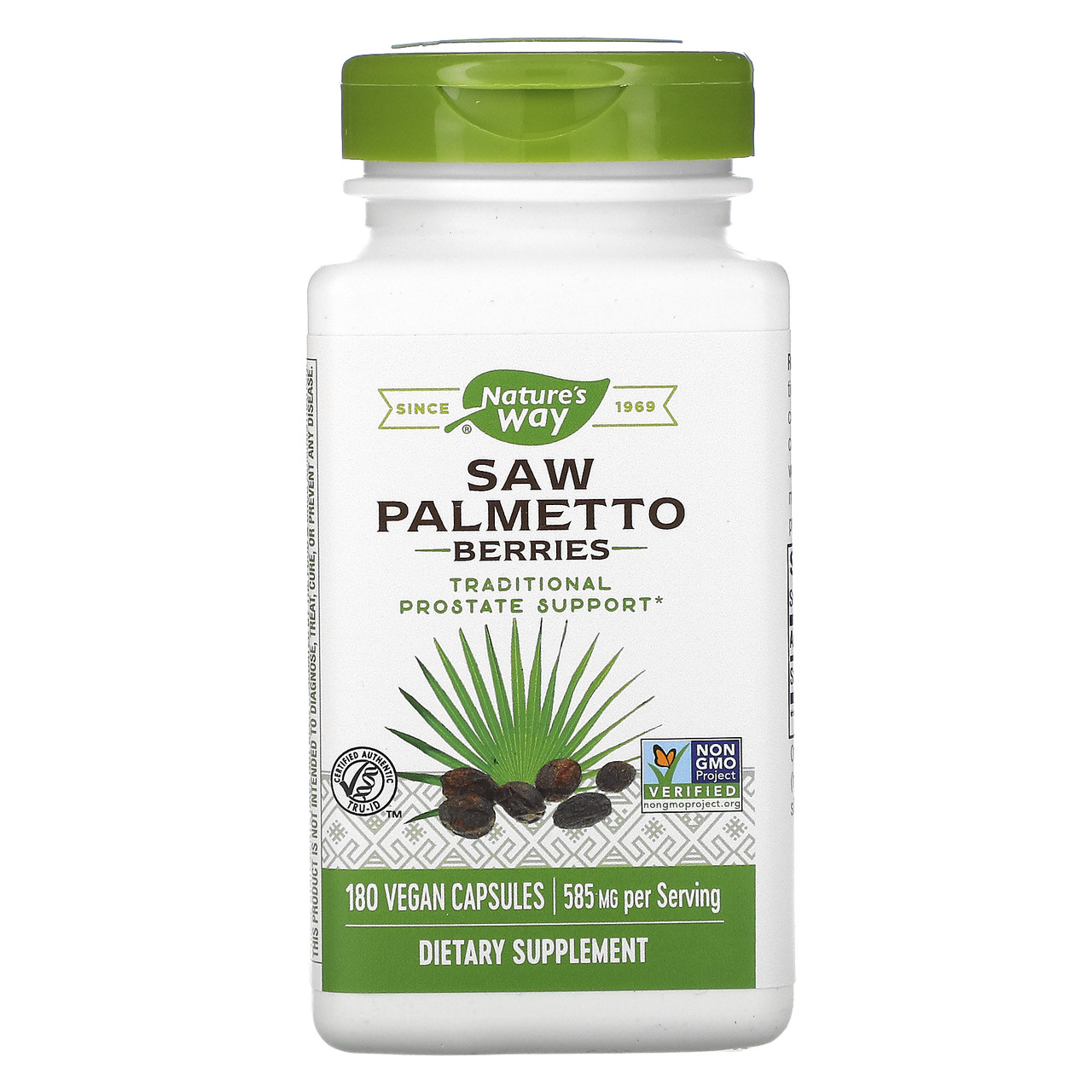 Со Пальметто, nature's Way, екстракт, 585 мг, 180 капсул