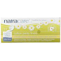 Natracare, Ультра тонкие ежедневные прокладки, Органический хлопок, 22 ежедневные прокладки