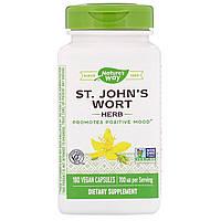 Зверобой, St. John's Wort Herb, Nature's Way, 350 мг, 180 капсул