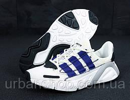 Чоловічі кросівки Adidas Yeezy 600 Lexicon White/Blue. ТОП Репліка ААА класу.