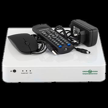 УЦ (4635) Гибридный видеорегистратор AHD Green Vision GV-S-036/08 * 1080N
