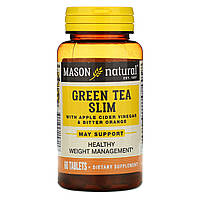 Зеленый чай для похудения, Mason Vitamins, 60 кап.