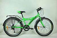 "Велосипед 24"" GENERAL 1,0 STEEL (7 sp) зеленый"