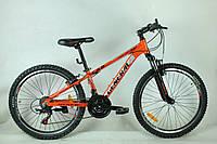 """Велосипед 24"""" GENERAL 3,0 ALLOY (21 sp) черно-оранжевый"""