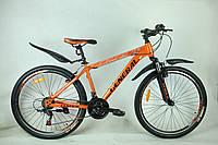 """Велосипед 26"""" GENERAL 5,0 STEEL (21 sp) черно-оранжевый"""