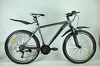 """Велосипед 26"""" GENERAL 5,0 STEEL (21 sp) черно-серый"""
