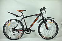 """Велосипед 26"""" GENERAL 6,0 STEEL (7 sp) оранжево-черный"""