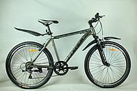 """Велосипед 26"""" GENERAL 6,0 STEEL (7 sp) черно-серый"""