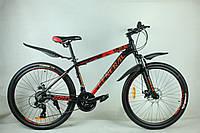 """Велосипед 26"""" GENERAL 9,0  ALLOY (21 sp) красно-черный"""