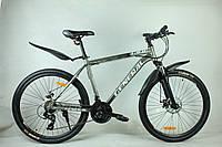"""Велосипед 26"""" GENERAL 9,0  ALLOY (21 sp) бело-серый"""