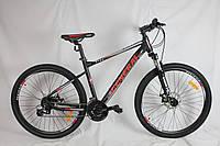 """Велосипед 27,5"""" GENERAL 11.0 ALLOY (24 sp) красно-черный"""