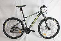 """Велосипед 27,5"""" GENERAL 11.0 ALLOY (24 sp) желто-черный"""