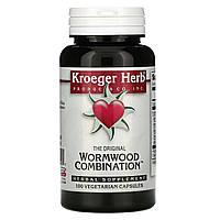 Kroeger Herb Co, Экстракт полыни, 100 капсул в растительной оболочке