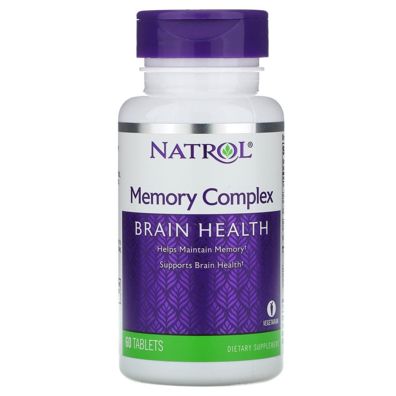 Вітаміни для пам'яті, Natrol, 60 таблеток