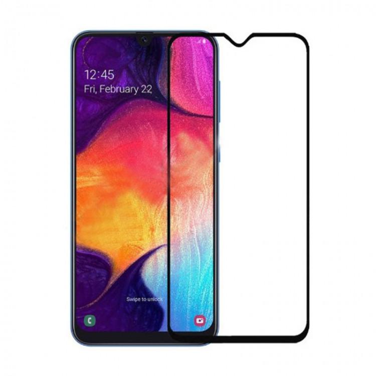 Захисне скло 5D Glass для Samsung Galaxy A80 2019/A805 Black (PG-000927)
