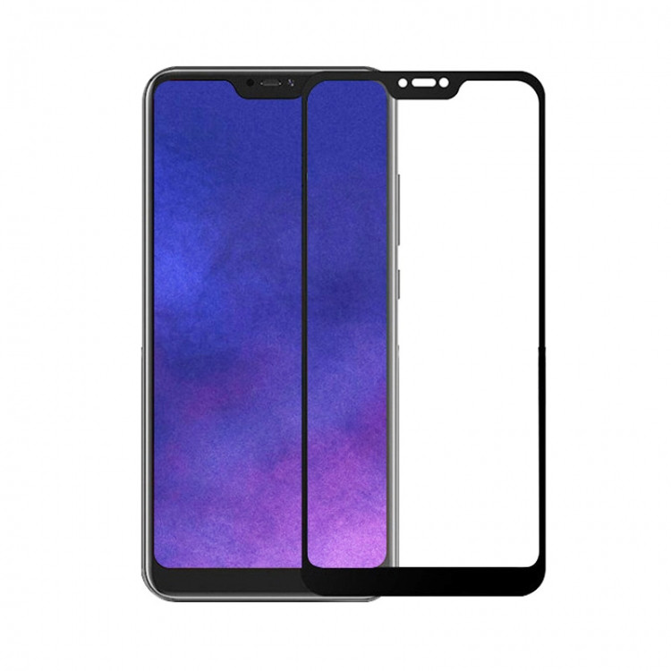 Защитное стекло 5D Glass для Xiaomi Note 6 Black (PG-000857-2)