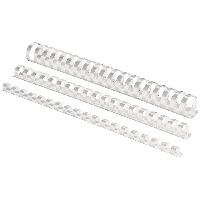 Пружина для переплета Пружина пластиковая круглая d 16 мм А4 Fellowes (f.53470 (белая) x 107938)