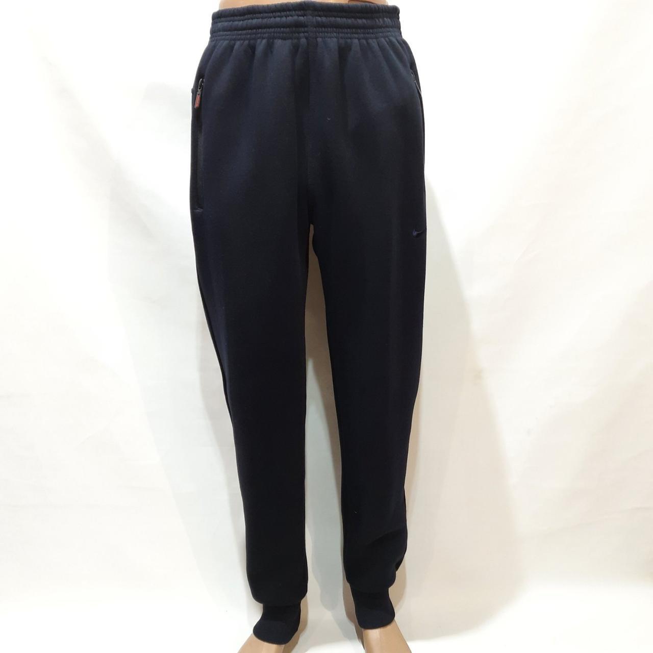 Теплые мужские штаны (Большие размеры) спортивные на флисе Турция